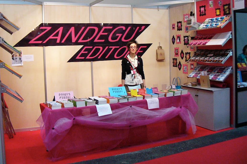 Marianna al salone del libro 2008